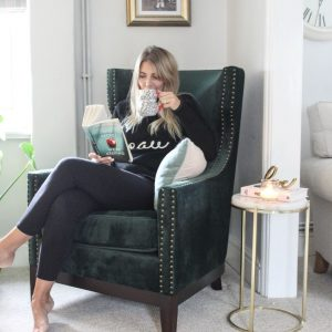 Witon Green Armchair With Cara