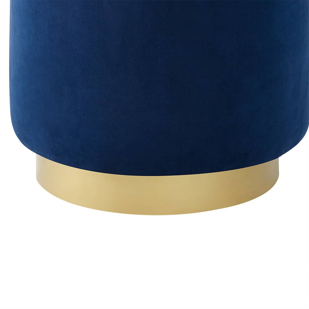 Lola Electric Blue Ottoman Base