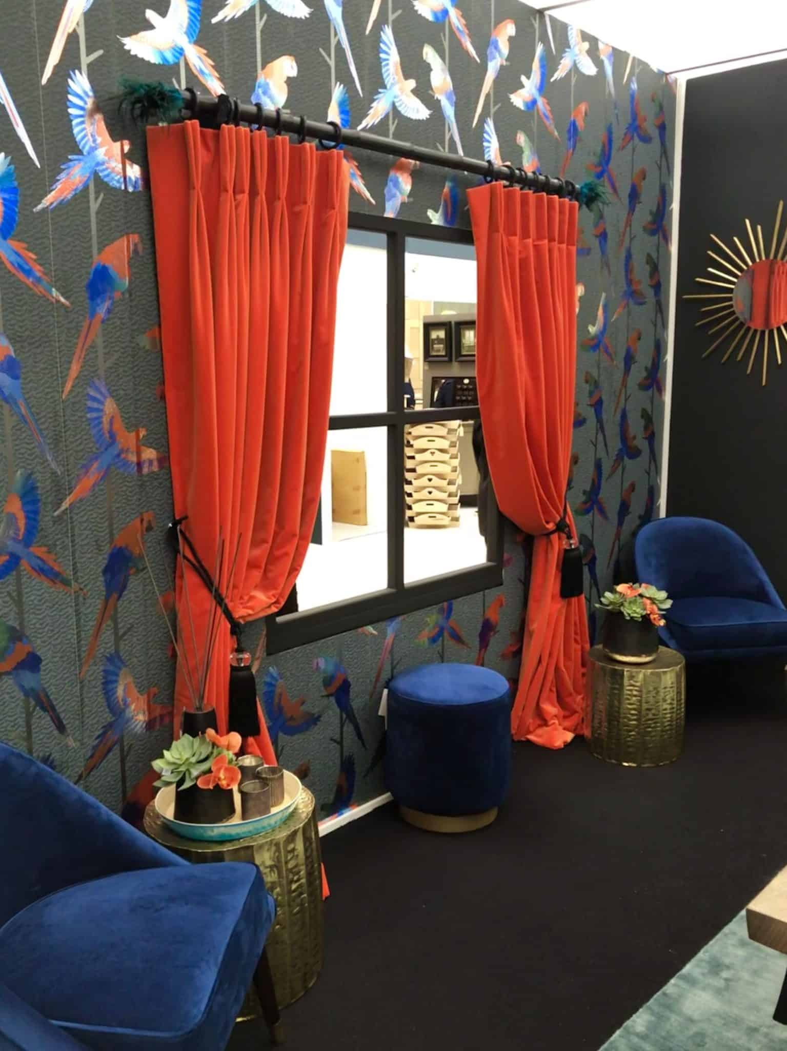 Blue Velvet Chair Blue Velvet Ottoman