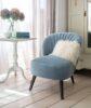 Evie_Chair_Blue_Cushion_Angle