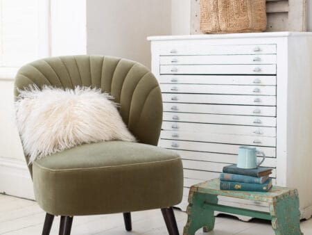 Evie Sage Green Chair