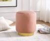 Lola Blush Pink Ottoman
