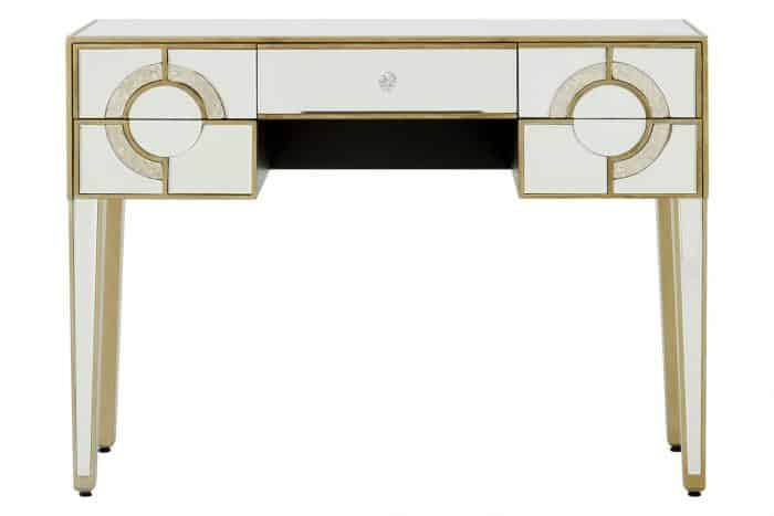 Lucille Mirrored Console Table