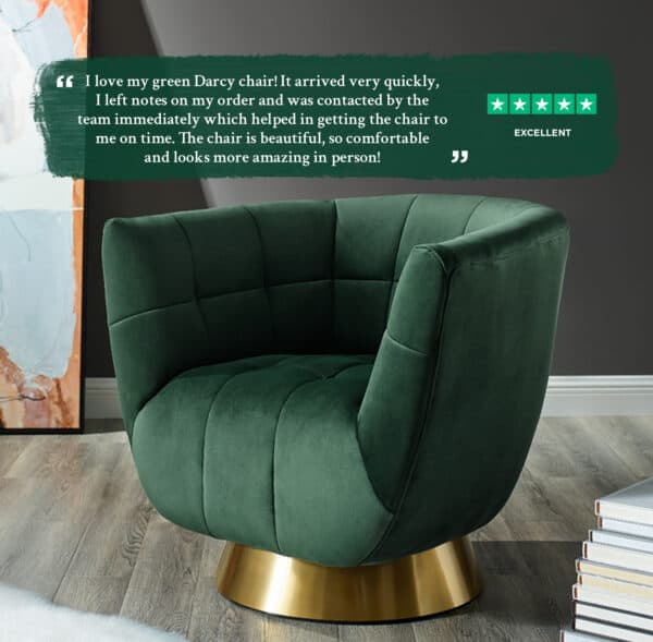 Darcy Green Chair