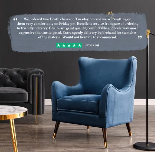 Heath Blue Chair