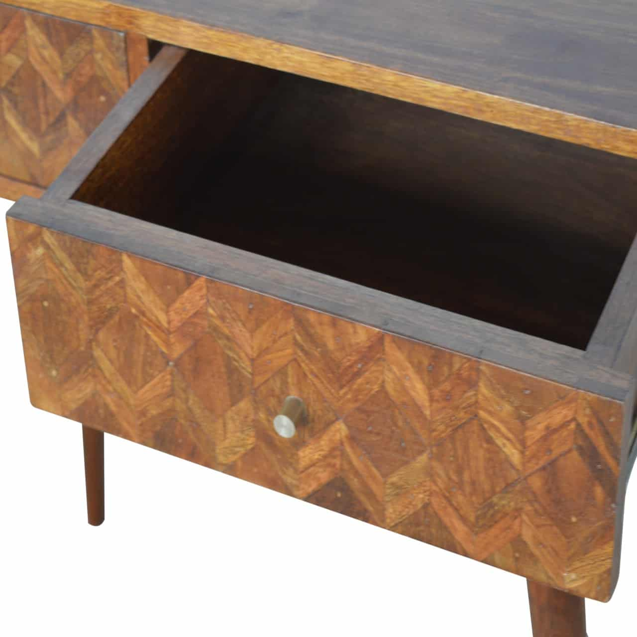 Earl Chestnut Brown Console Table