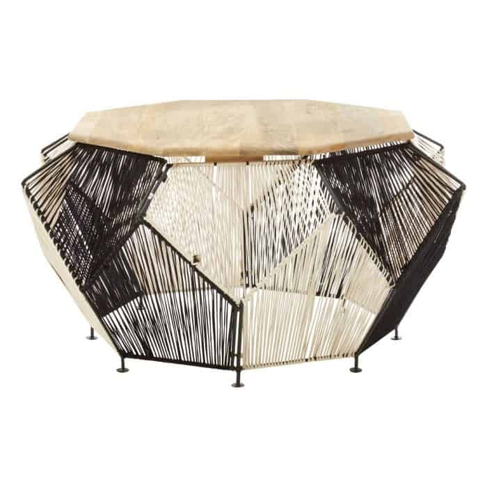 Imogen Black and White Coffee Table