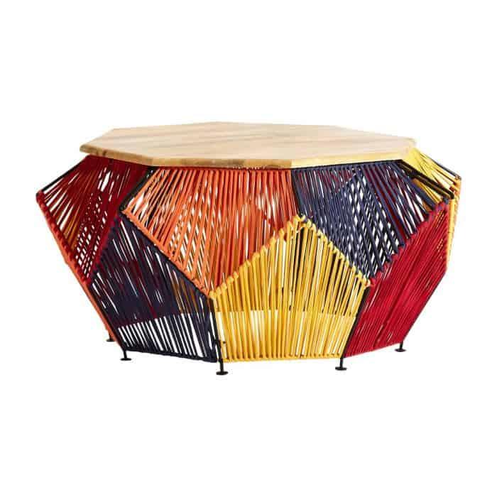 Imogen Multicoloured Coffee Table