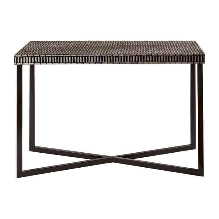 Koko Black and White Console Table