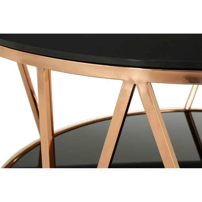 Mila Rose Gold Coffee Table CU