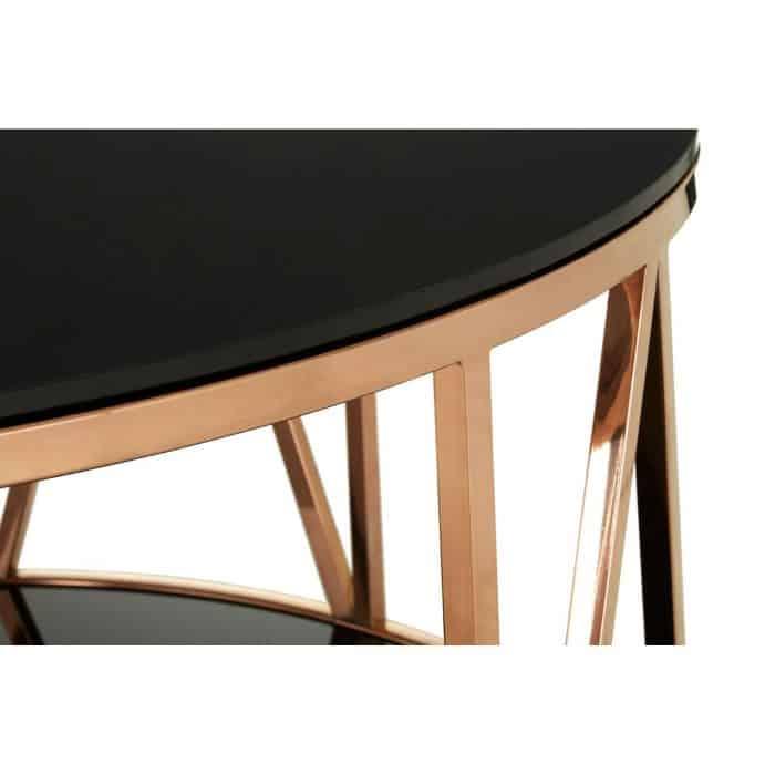 Mila Rose Gold Coffee Table CU2