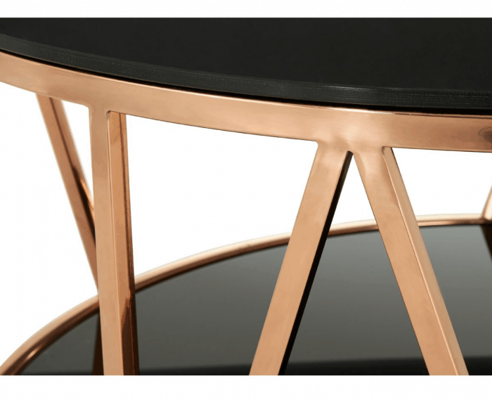 Mila Rose Gold Coffee Table