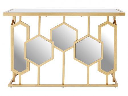 Sophia Mirrored Console Table