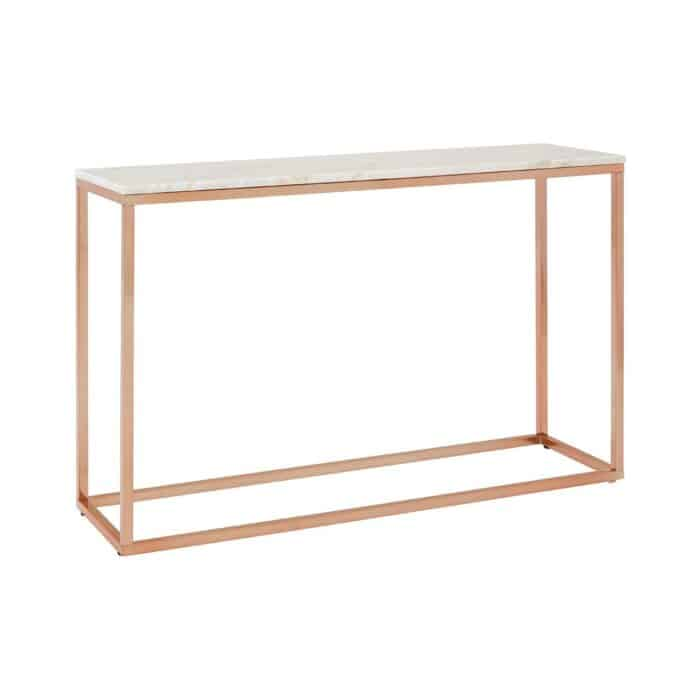 Viola Marble Console Table