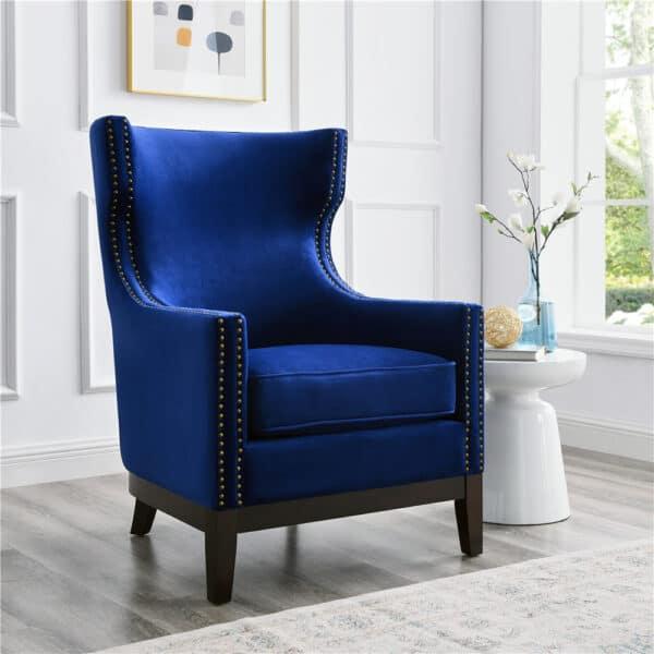 Wilton Sapphire Blue Velvet
