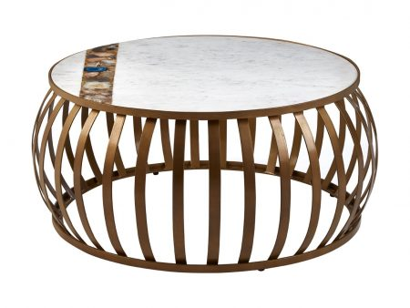 Zaria Marble Coffee Table