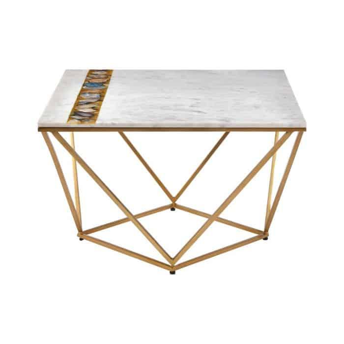 Zaria Square Marble Coffee Table