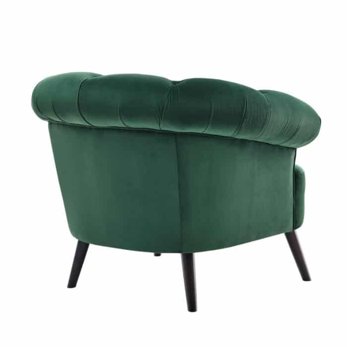 Eversley Emerald Green Velvet Chair