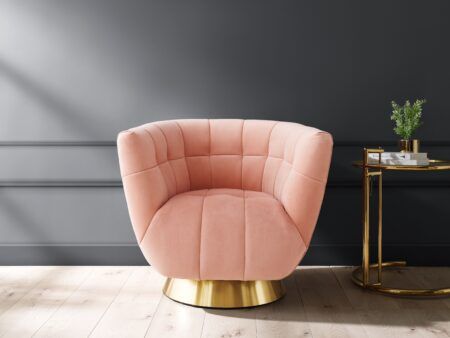Darcy Blush Pink Chair