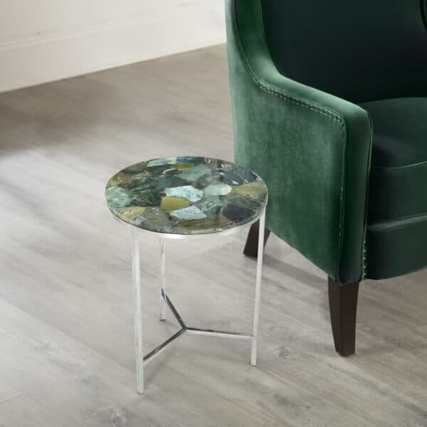 Thea Jasper Green Side Table