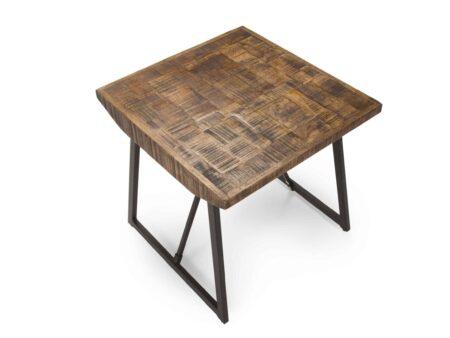 Joshua Parquet Side Table