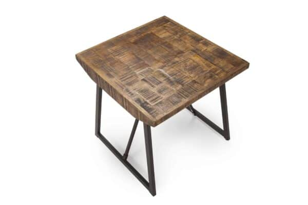 Joshua Parquet Side Table